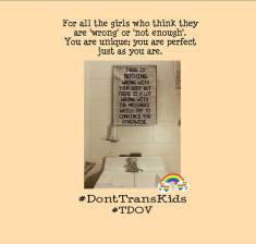 Don't Trans Kids